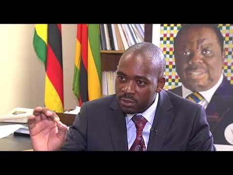 Sophie Mokoena speaks to Zimbabwe's Nelson Chamisa