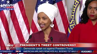 """""""IMPEACH PRESIDENT TRUMP"""": Rep. Omar Says The Time To Impeach IS NOW"""