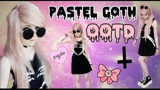PASTEL GOTH OOTD #1 !