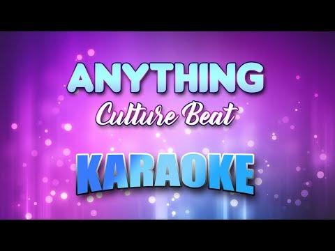 Culture Beat - Anything (Karaoke version with Lyrics)