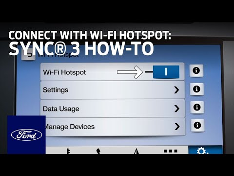 FordPass™ Connect with Wi-Fi Hotspot Overview | SYNC 3 How-To | Ford