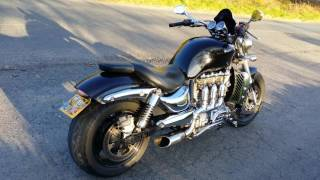 Triumph Rocket 3 black