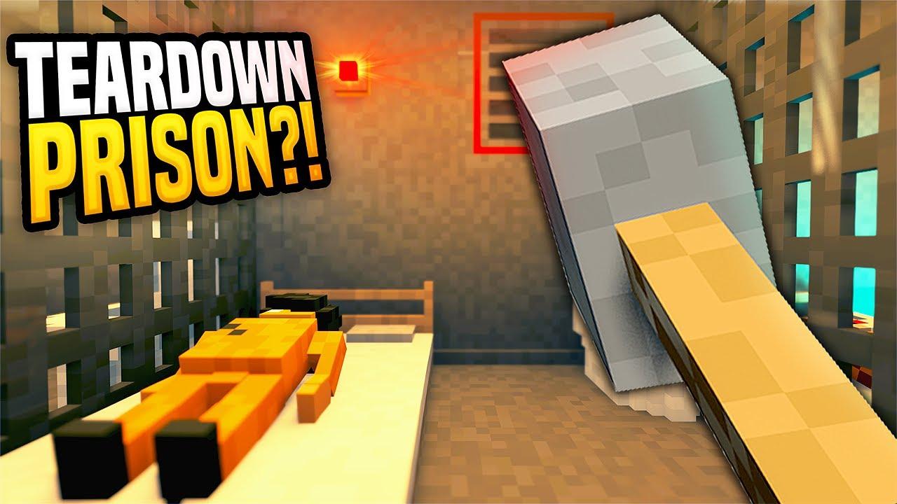 Escaping Teardown PRISON is IMPOSSIBLE - Teardown Mods Gameplay