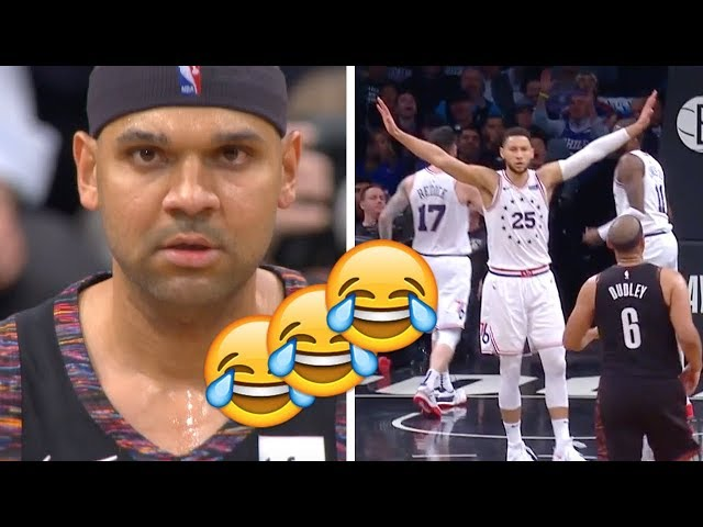 Jared Dudley AIRBALL and Ben Simmons REACTION!