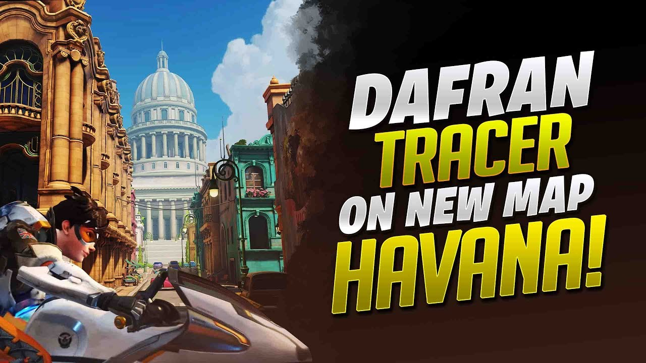 Dafran Tracer On New Map Havana In Competitive! - Overwatch