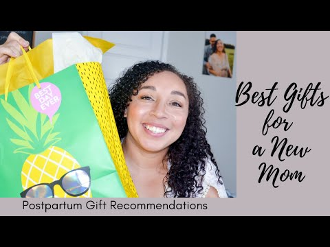 BEST GIFTS FOR A NEW MOM: POSTPARTUM GIFT RECOMMENDATIONS: Gifting my friend with a new baby