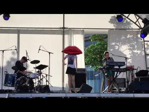 Lips, Live at Aotea Square, Auckland Arts Festival, Auckland, New Zealand, part 1