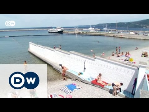 Sun worshippers at Trieste's historic lido | Focus on Europe