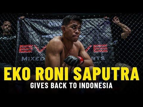 Eko Roni Saputra Gives Back To Indonesia
