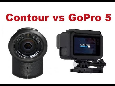 The best Motorcycle Action Camera, GoPro Hero 5 vs Contour Roam 2 - Which one is better?