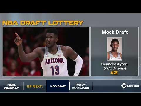 2018 NBA Mock Draft: Post-Lottery Edition