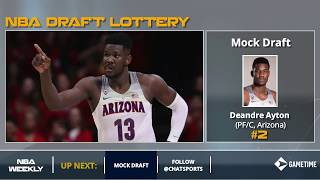 2018 NBA Mock Draft: Post-Lottery Edition
