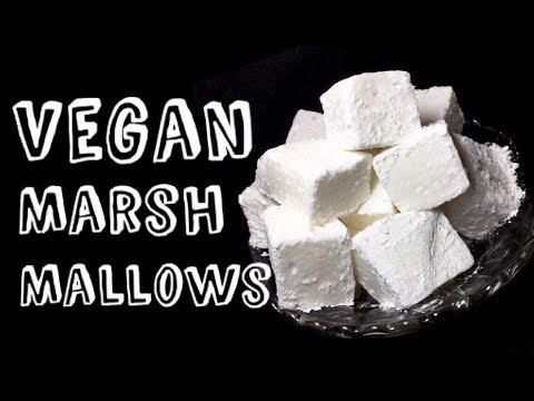 Vegan Marshmallows Recipe | Homemade Marshmallows Recipe | Homemade Vegan Marshmallows