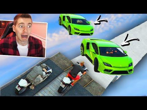 GTA V Online: MOTO vs SUPER CARROS - TROLLEI o meu TIME!!! (FINAL ÉPICO)