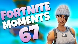 THE MOST EPIC FREE FALL EVER!! | Fortnite Daily Funny and WTF Moments Ep. 67