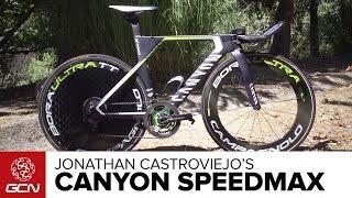 Jonathan Castroviejo's Canyon Speedmax | Vuelta A España 2016