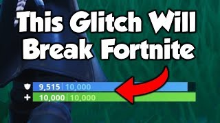How To Do The Best GOD MODE Glitch in Fortnite Saison 8...