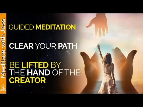 Guided Meditation Take The Creators Hand.  Destiny, Purpose, Communicate Directly With Source.