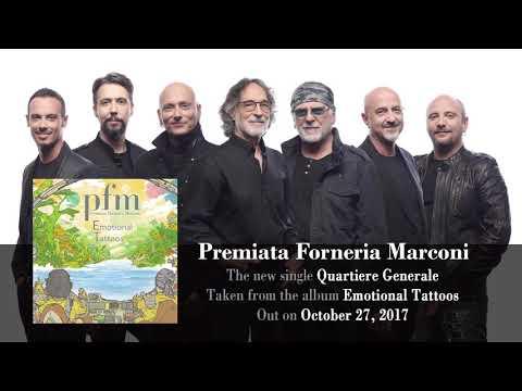 PREMIATA FORNERIA MARCONI  Quartiere Generale Album Track