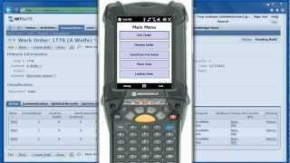 OzLINK for NetSuite - Mobile - How to Pick Items in your Warehouse to Complete a Work Order - Demo
