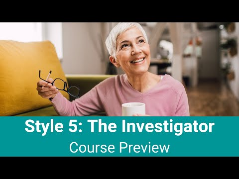 "Style 5 - ""The Investigator"""