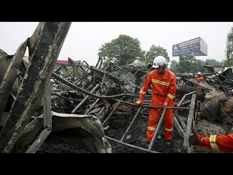 Nursing home fire kills 38 residents in China