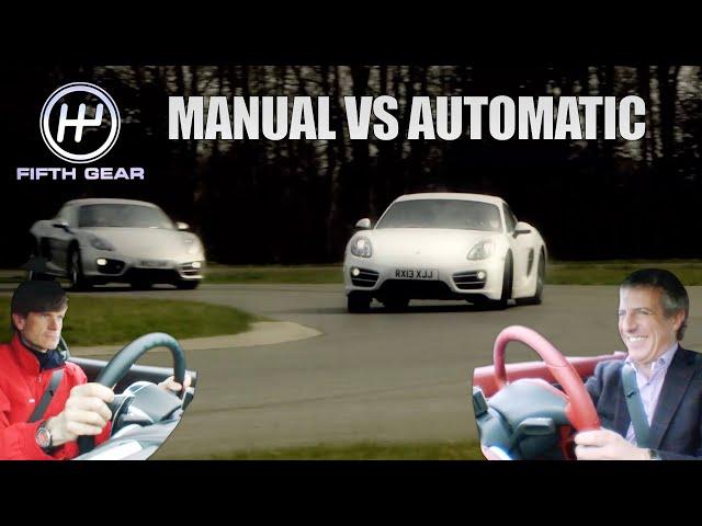 Porsche Cayman: Manual VS Automatic | Fifth Gear