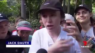 Детский митинг в Австралии