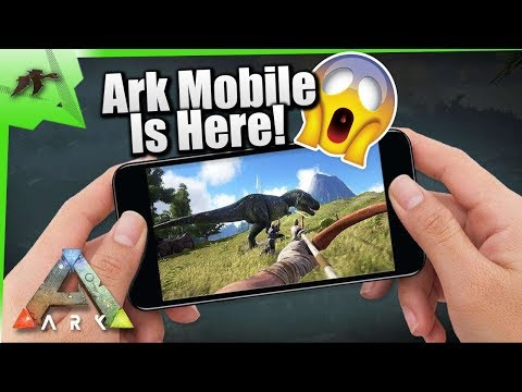 ANDROID/IOS] ARK MOBILE ANDROID GAME SEVER OPEN / DOWNLOAD