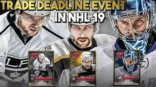 NHL 19 HUT | Trade Deadline Event Details, Sets, Challenges, and Thoughts