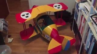 pedal plane tiger moth