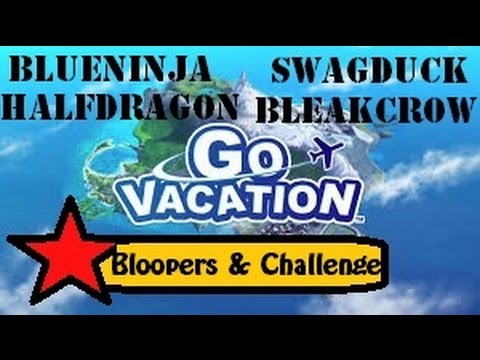 GO VACATION!!! Bloopers and Challenge!