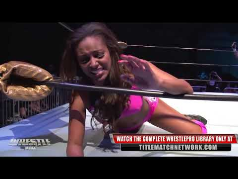 Joey Ryan vs Brandi Rhodes - WrestlePro (Intergender Match)