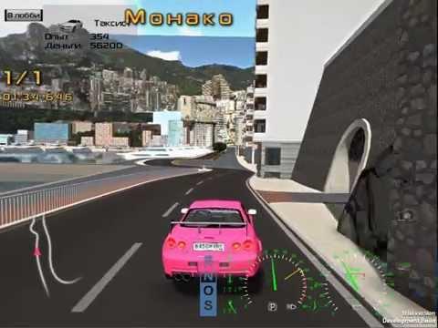 Механос. Проезд карты Монако. Unity3D