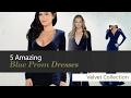 5 Amazing Blue Prom Dresses Velvet Collection