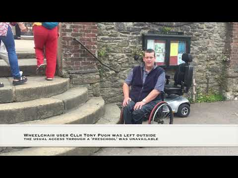 No disabled access at fire station consultation
