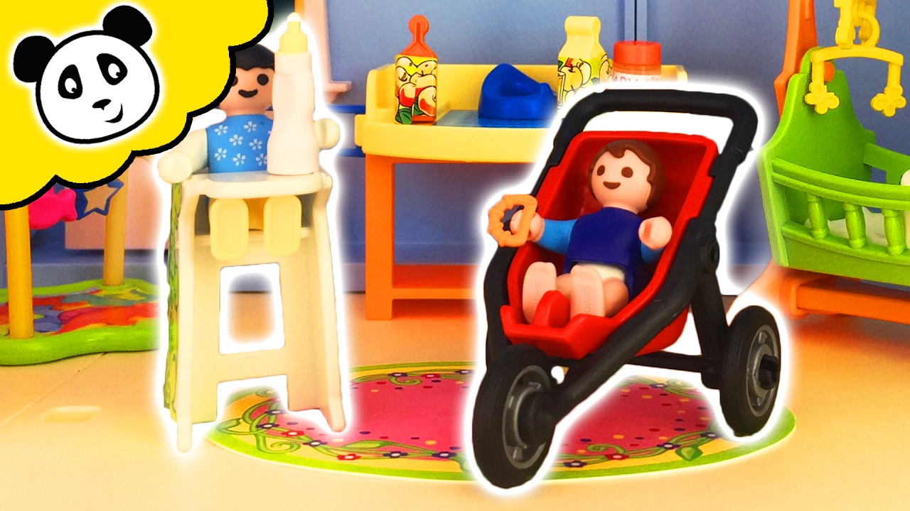 Playmobil familie puppenhaus kinderzimmer spielzeug for Kinderzimmer playmobil