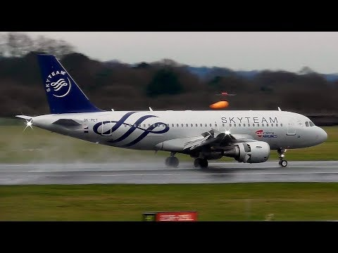 Plane Spotting at Manchester Airport   14th February 2018