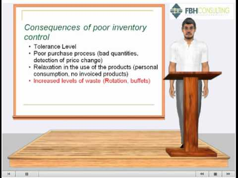 Lesson 1 Inventory management for Hospitality