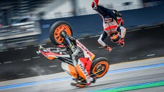 MotoGP Thailand 2019 Crashes and Fails #15
