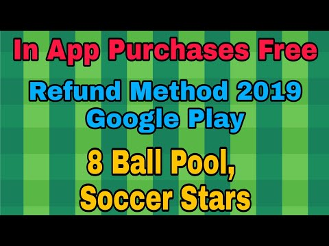 NO ROOT | In App Purchases For Free Soccer Stars / 2019 Trick / Refund Method