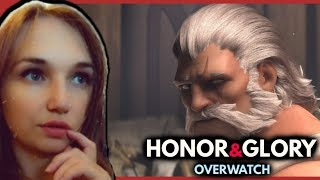 """Honor and Glory"" - Overwatch Animated Short - REACTION"