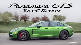 2019 Porsche Panamera GTS Sport Turismo Review - Twin Turbo V8 Wagon