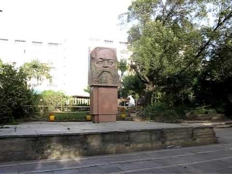 Statue of Karl Marx - Addis Ababa University