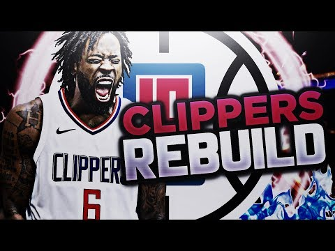 3 HUGE TRADES!?! LA CLIPPERS REBUILD!! NBA 2K18