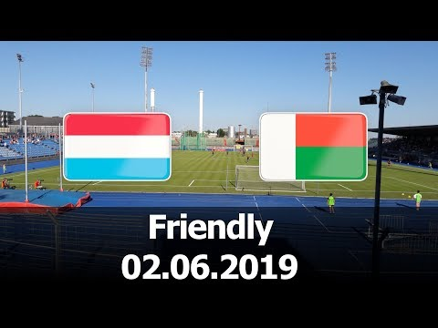 Luxembourg vs Madagascar - International Friendly - PES 2019