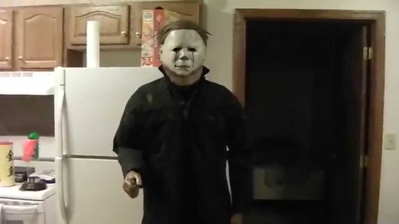 sc 1 st  YouTube & Part 2 Halloween II Michael Myers Costume Life-sized - YouTube