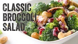 Classic Broccoli Salad Recipe : Season 3, Ep. 5 - Chef Julie Yoon