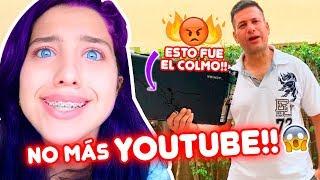 BROMA CRUEL A MI PAPÁ!! TERMINA MAL😱😰 DEJARÉ YOUTUBE | Leyla Star 💫