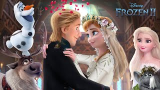 Frozen 2: Anna and Kristoff get married! Queen Anna and King Kristoff ❤️🦌 Frozen 2 | Alice Edit!